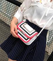 Fashin сумка-клатч с металлическими ручками, фото 3