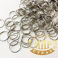 Соединительные кольца для крепления бусин, размер 12мм*50шт