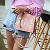 Каркасная сумка с ручками-котиками и принтом котов, фото 5