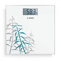 Весы напольные электронные Bosch PPW3303 стеклянные (до 180 кг)