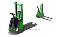 Самоходный штабелер гидравлический с весами 4BDU1000Ш практичный (до 1000 кг)