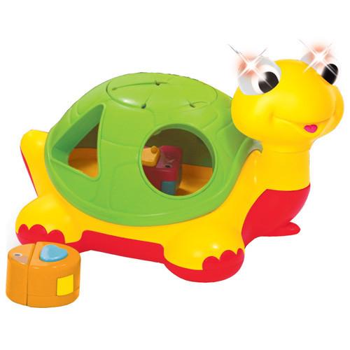Игрушка сортер каталка Черепаха-Знайка