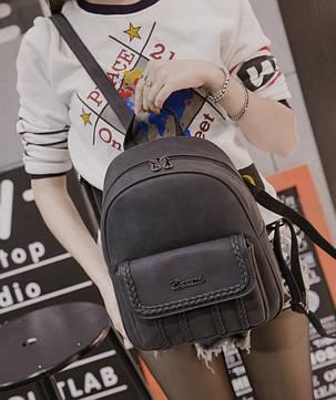 Городской рюкзак с косичками для модных девушек , фото 2