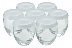 Набор баночек для йогуртницы Moulinex XF950001 (7шт.)