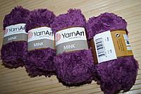 YarnArt Mink- 338 фиолетовый