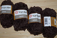 YarnArt Mink- 333 коричневый