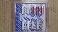 Предохранитель Газель,Волга,ВАЗ (круглый,пальчиковый) старого образца набор (комплект 10  шт) (пр-во MTA,Герма
