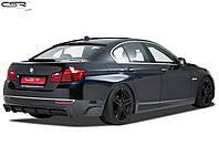 Диффузор юбка заднего бампера BMW F10 рестайлинг