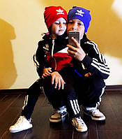 """Детская шапочка в спортивном стиле 4018 """"ADIDAS"""" в расцветках"""