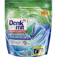 Капсулы для стирки Denkmit Vollwaschmittel, 16 шт.