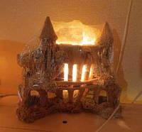 Солевой светильник замок