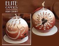 Свеча шар кофейная чаша