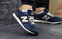Мужские кроссовки New Balance 574, темно синие