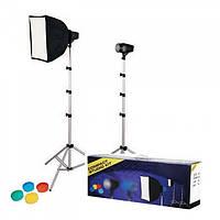 Комплект студийного света Falcon SSK-2150P для компактой фотостудии
