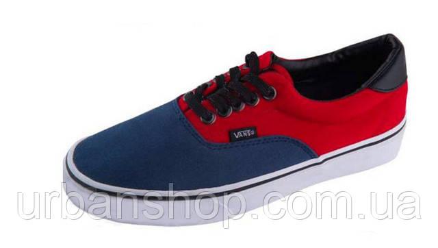 Купить Кеди Vans New Era 59 Red Blue в Интернет-магазине
