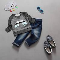 Костюм детский реглан и джинсы