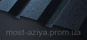 Профнастил черный Black матовый, металлопрофиль антрацит RAL 9005, черный профлист