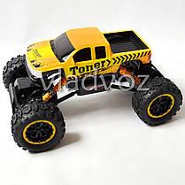 Джип машинка на радио управлении Rock Crawler Toner оранжевый 1:12, фото 3