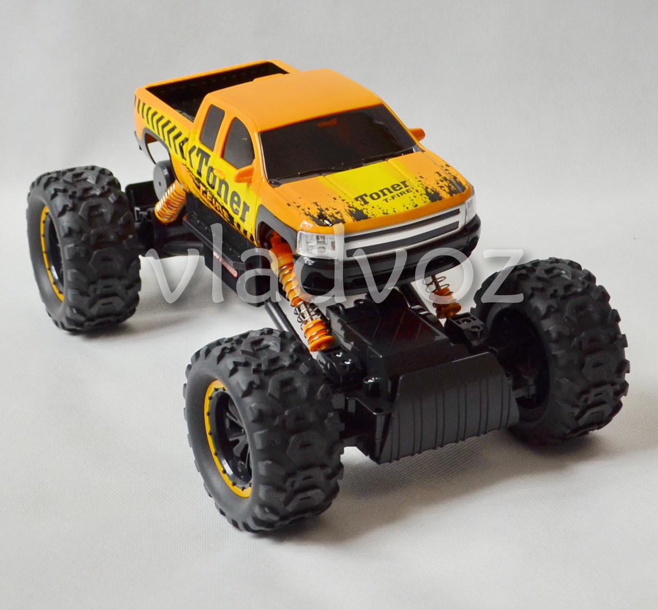 Rock Crawler оранжевый на радиоуправлении