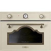 Компактный многофункциональный духовой шкаф, комбинированный с пароваркой Smeg SF4750VCPO