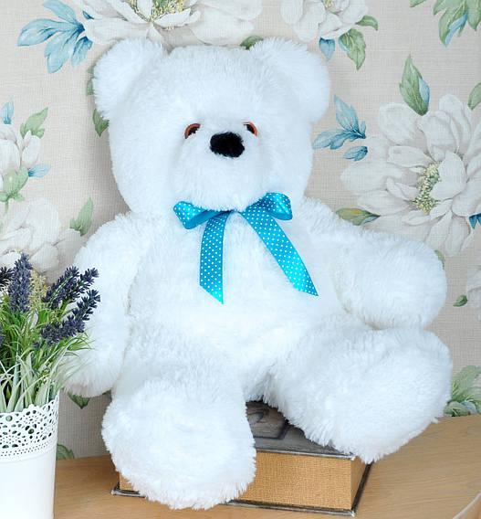 Мягкая игрушка плюшевый мишка Мишутка, 70 см белый
