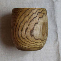 """Стакан """"Gray lines"""" из натурального дерева"""