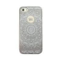 Чехол силиконовый Mask Collection Солнце в серебре для iPhone 5s