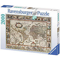 Пазл Ravensburger Карта Мира 1650 года 2000 элементов (RSV-166336)
