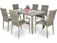 Комплект мебели из техноротанга FIESTA Grey