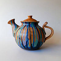 "Чайник заварочный Фира ""Blue stripes"" 900 мл"