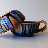 "Чашка Фира ""Blue stripes"" 300 мл"