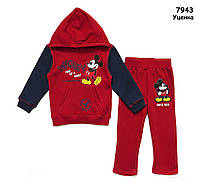 Теплый костюм Mickey Mouse унисекс. 145 см, фото 1