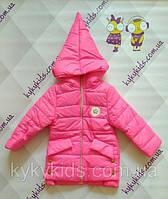 Куртка для девочки (3 - 6 лет)