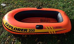 Надувная гребная лодка Explorer 200 Intex (58330)