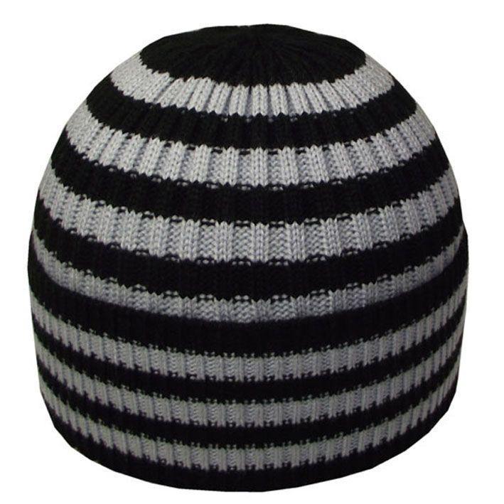 Шапка 12063 черный-свсерый