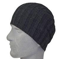 Шапка 13066 темно-серый