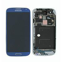 Дисплей с сенсорной панелью Blue (GH97-14630C) для смартфона Samsung i9500 Galaxy S4