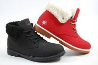 Ботинки женские зимние разные цвета