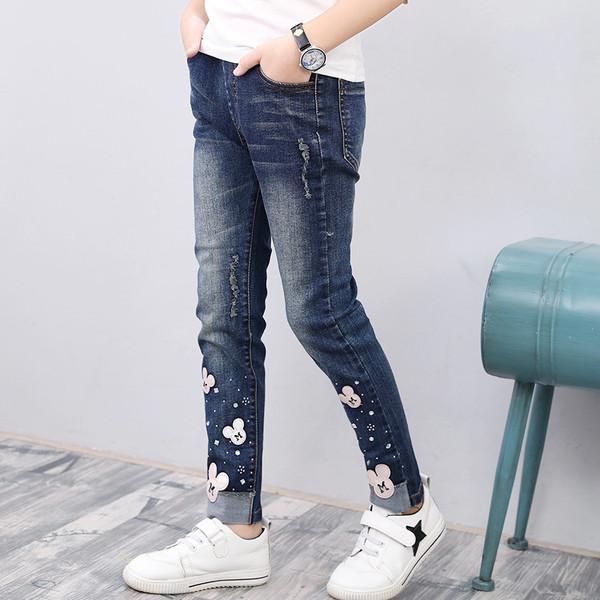 Детские джинсы М