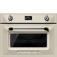 Компактный духовой шкаф, комбинированный с микроволновой печью Smeg SF4920MCP
