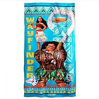 Детское пляжное полотенце Disney Моана Мауи