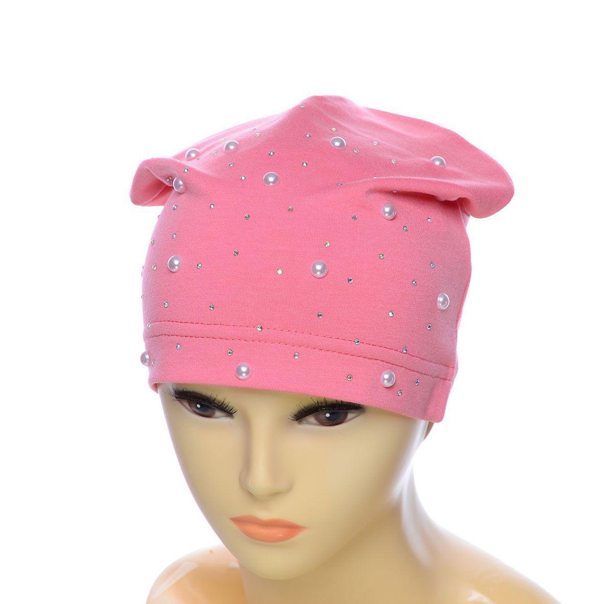Шапка DD1756Т розовый