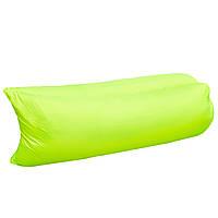 Надувной диван-гамак Lamzac Hangout Зеленый