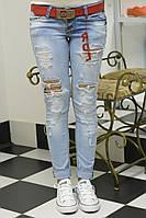Стильные джинсы пр-во Турция размеры 25,,28,29,30