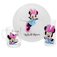 """Набор детской посуды Luminarc """"Disney Minnie Colors"""""""