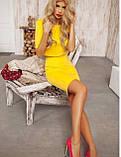 Костюм женский Топ(рукав 3/4)+ юбка карандаш., фото 2