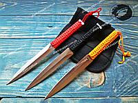 Набор метательных ножей Раинбов 3в1