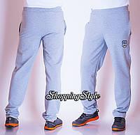Мужские спортивные штаны.Турция,цвет серый.