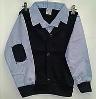 Детская рубашка-обманка для мальчиков