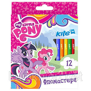 Фломастеры  My Little Pony 12 цветов /Kite